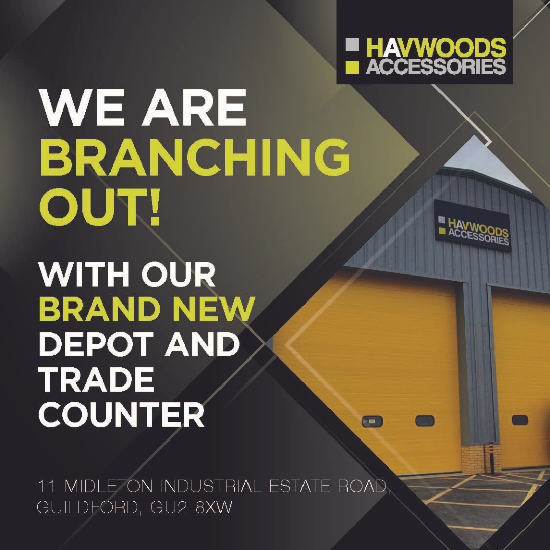 We are branching out - Introducing the new Havwoods Accessories Guildford!