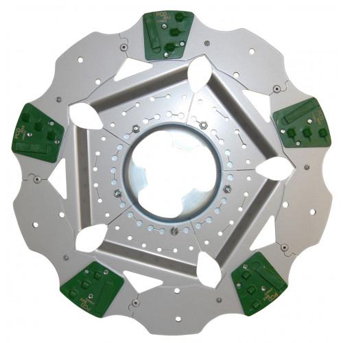 Abrasive PCD Disc