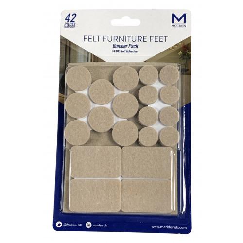 Marldon FF100 Felt Furniture Feet