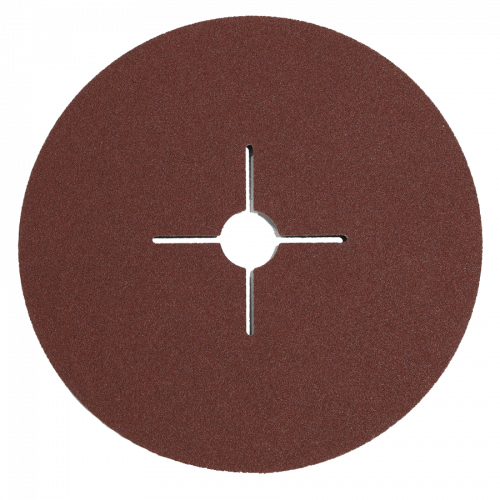 Mirka 180mm Fibre Discs - 100 Grit