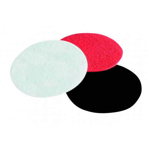 200mm White Buffing Pad