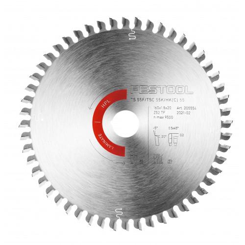 FESTOOL Saw blade HW 160x1,8x20 TF52