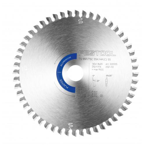 FESTOOL Saw blade HW 160x1,8x20 F/FA52