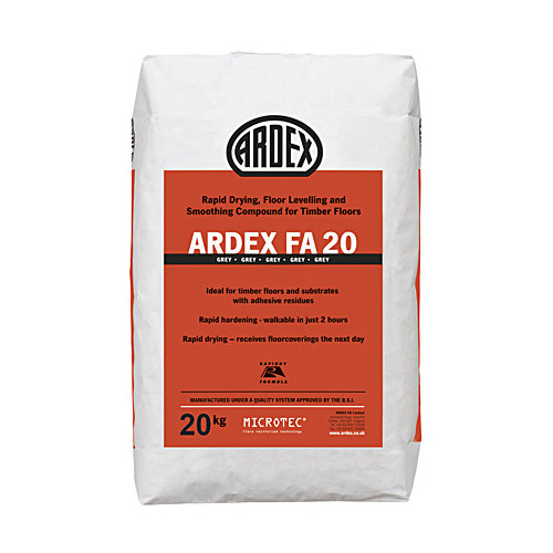 Ardex FA 20 Levelling and Smoothing Compound