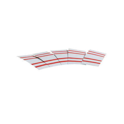 Junckers PVC Joint Spacers 0.2mm Red