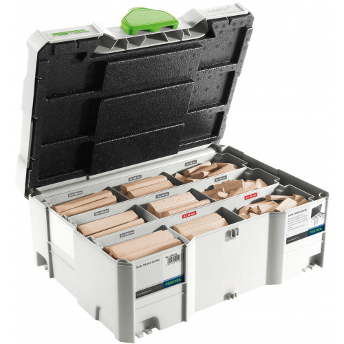 Festool Domino XL beechwood dowel set