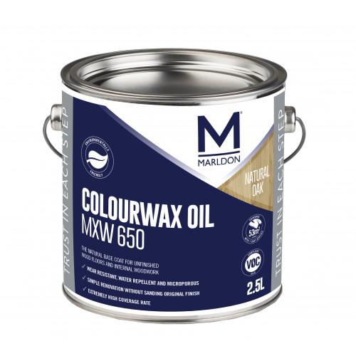 Marldon Colour Wax Oil Natural Oak 2.5ltr