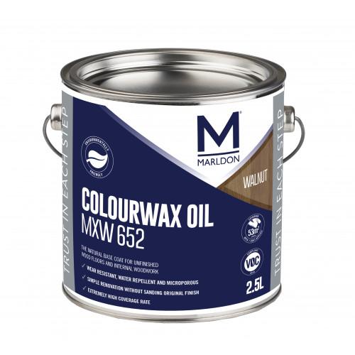 Marldon Colour Wax Oil Walnut 0.125ltr