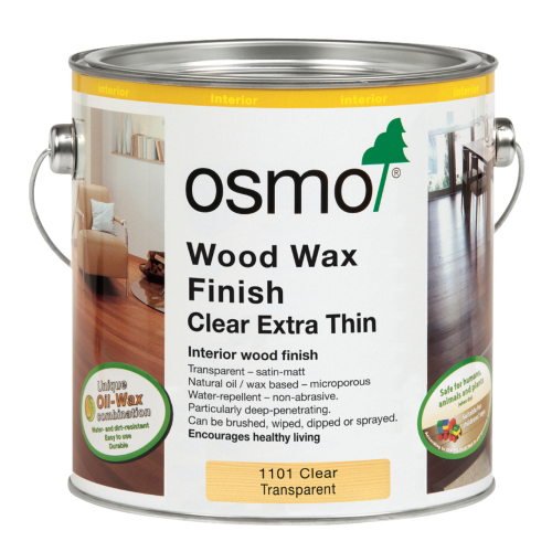 Osmo Clear Extra Thin (1101) 0.125ltr