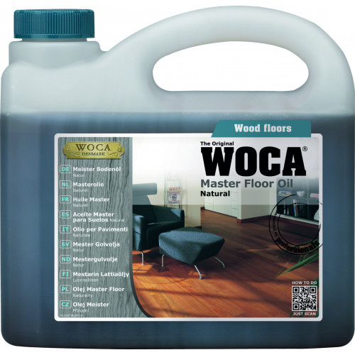 WOCA Master Floor Oil Natural 1ltr