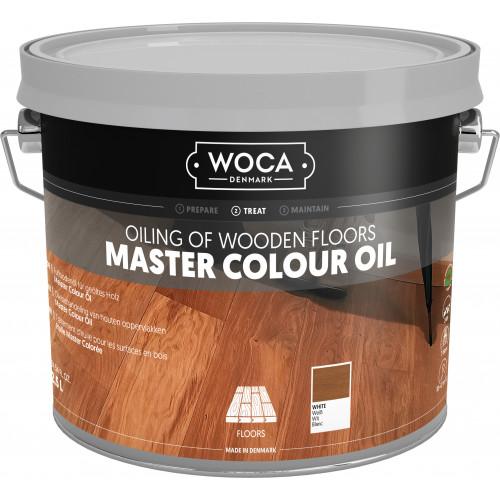 WOCA Master Floor Oil White 2.5ltr
