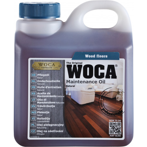 WOCA Maintenance Oil Natural 1ltr