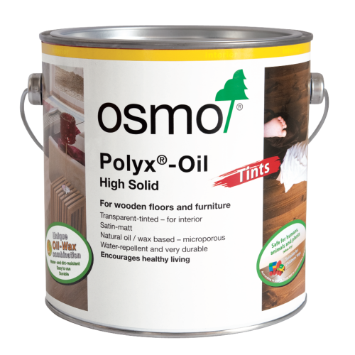 Osmo Polyx Oil Tints Raw 2.5ltr