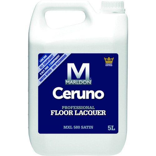 Marldon Ceruno Professional Floor Lacquer MXL560 Extra Matt