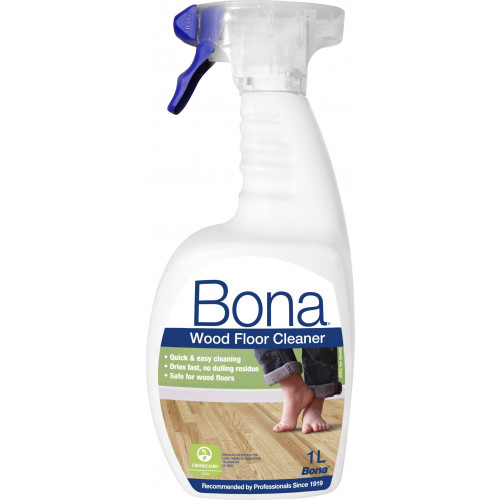Bona Wood Floor Cleaner Spray Bottle 1ltr