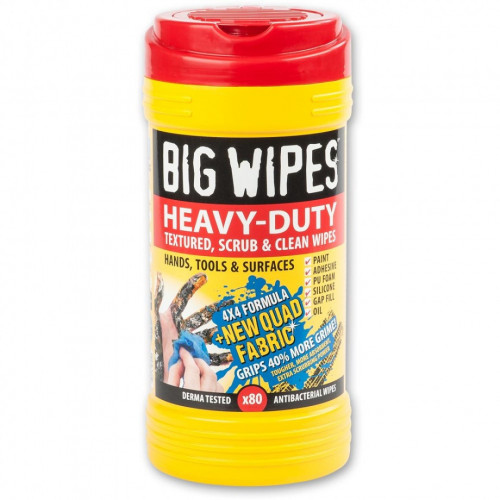 Big Wipes Red Top Heavy Duty