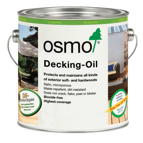 Osmo Decking Oil Clear (007)