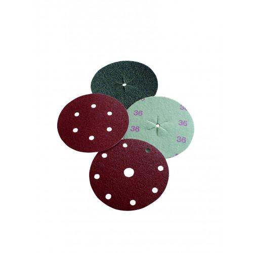 Sabretec 150mm Zirconia Discs (No Centre Hole) - 24 Grit