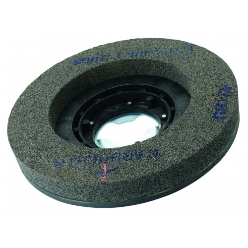 Carborundum ring wheel