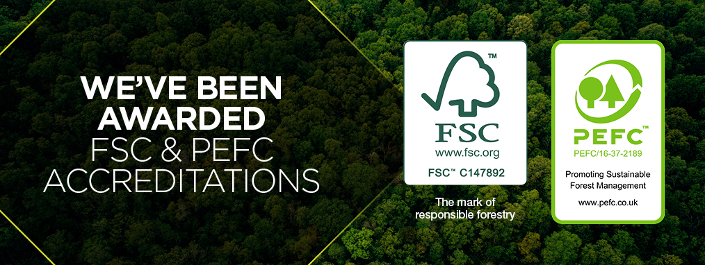 Havwoods Accessories have been awarded FSC and PEFC accreditations